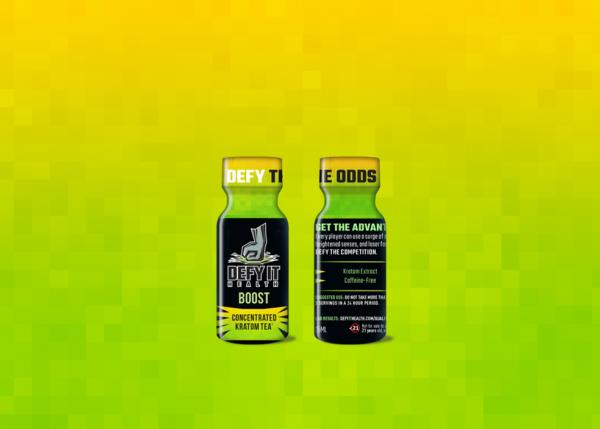 defy it health boost kratom tea extract shot